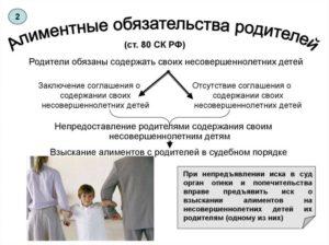 Взыскание алиментов с родителей– нюансы данной процедуры