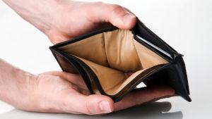 Нет денег на оплату кредитов