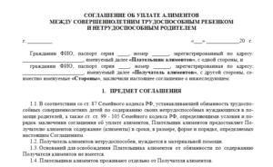 Развод и добровольное соглашение об уплате алиментов - Защита прав алиментщиков