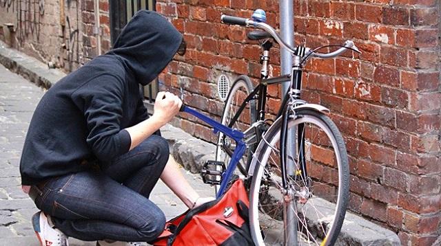 как действовать, если украли велосипед